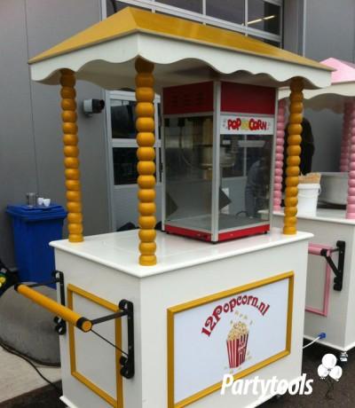 Popcornkar huren in regio Uden
